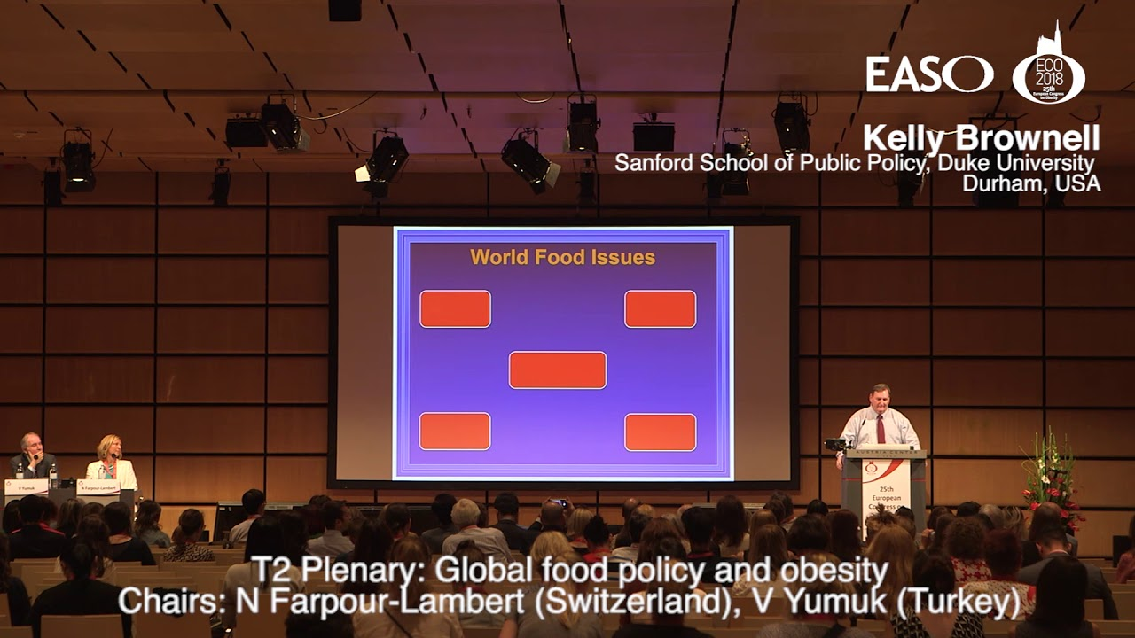 Global food policy and obesity - EASO