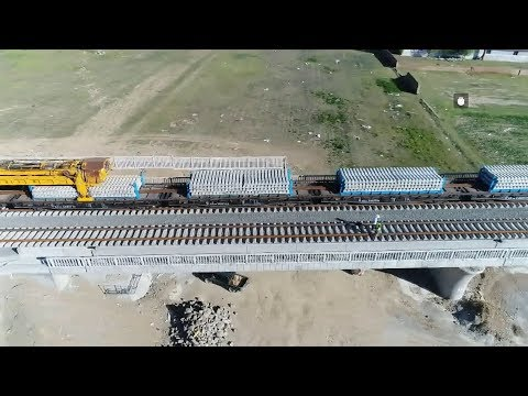 LIVE: New high-speed railway under construction in N China