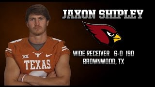 Highlights of Texas Football WR Jaxon Shipley [May 5, 2015]