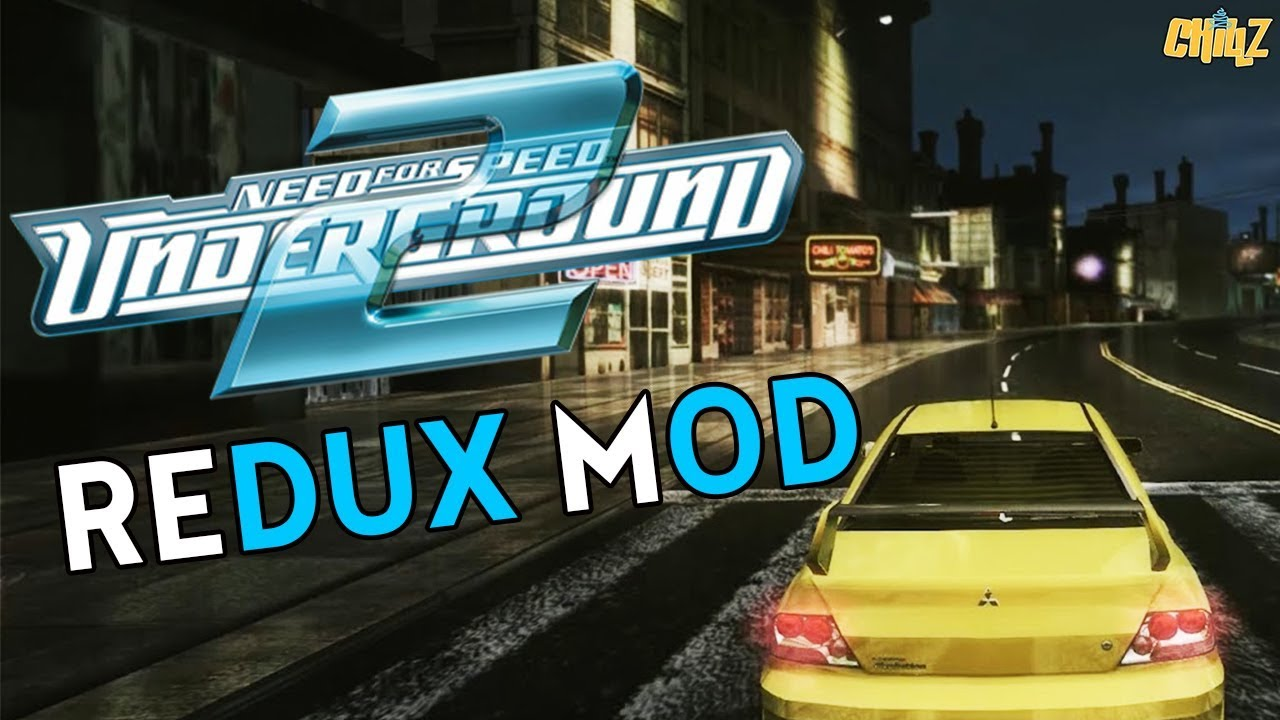 Need for speed Underground 2 Redux Graphics Mod Gameplay
