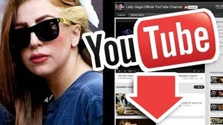 Lady Gaga Pierde 156 MILLONES de Vistas en YouTube!