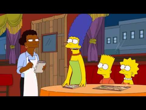 The Simpsons Ethiopian Food Clip