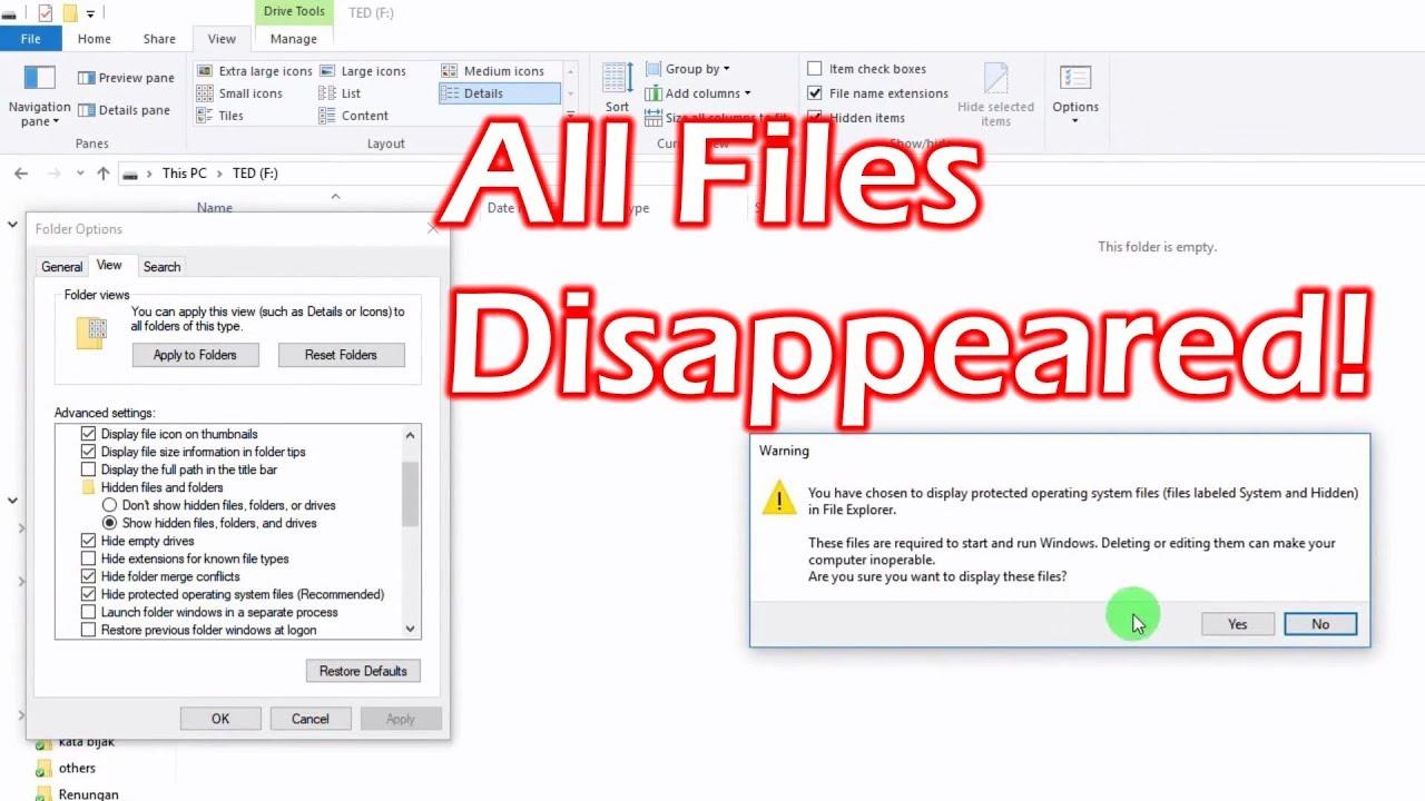 USB Hidden Folder Fix 1.1