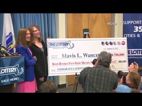 Massachusetts woman wastes no time claiming $758.7 million Powerball lottery jackpot
