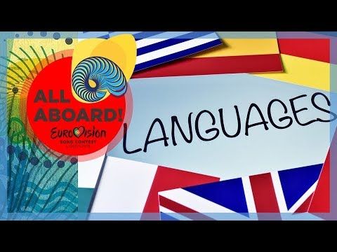 Eurovision 1956 - 2018 - All Languages and their first appearance in Eurovision   #ESC2018
