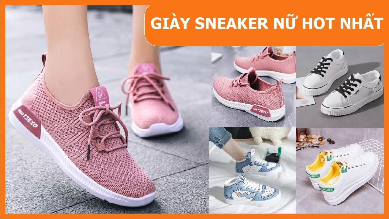 TOP 20 mẫu giày sneaker nữ hot nhất 2021 các nàng nên có | Tóm tắt các nội dung về giày thời trang cho nữ chuẩn nhất