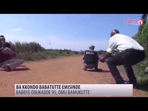 Amasasi gesoozezza e Iganga nga poliisi egobagana n�bi