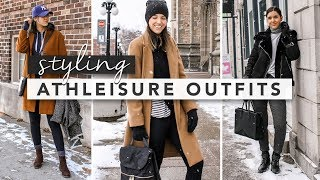 How to Wear Athleisure in the Winter Time | by Erin Elizabeth thumbnail
