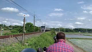 E231系マト139編成(成田線開業120周年記念)