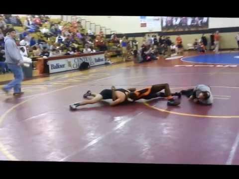 Jack Duval Wrestling Highlights 2012 - Freshman