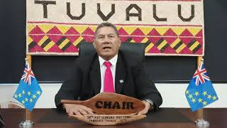 Video message by Prime Minister of Tuvalu as Chair of Pacific Islands Forum