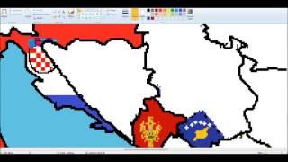 Europe-drawing Balkan flags(1) #5