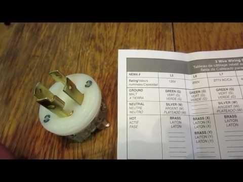 Making a dog bone adapter for my 4 plug generator to run 3 wire 30