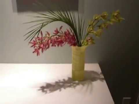 Cut Orchids In A Vase How Long Will They Last Youtube