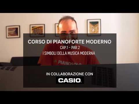 Corso di pianoforte moderno #1.2 - I simboli della musica moderna