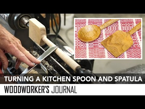 Turning a Spoon and Spatula