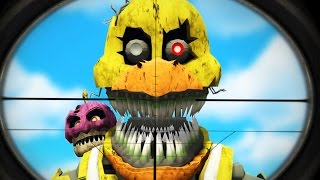 snipe the nightmare animatronics gta 5 mods fnaf funny moments garry s mod