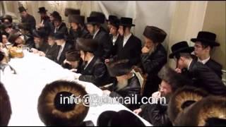 Skulener Rebbe @ Wosner Wedding - Sivan 5775