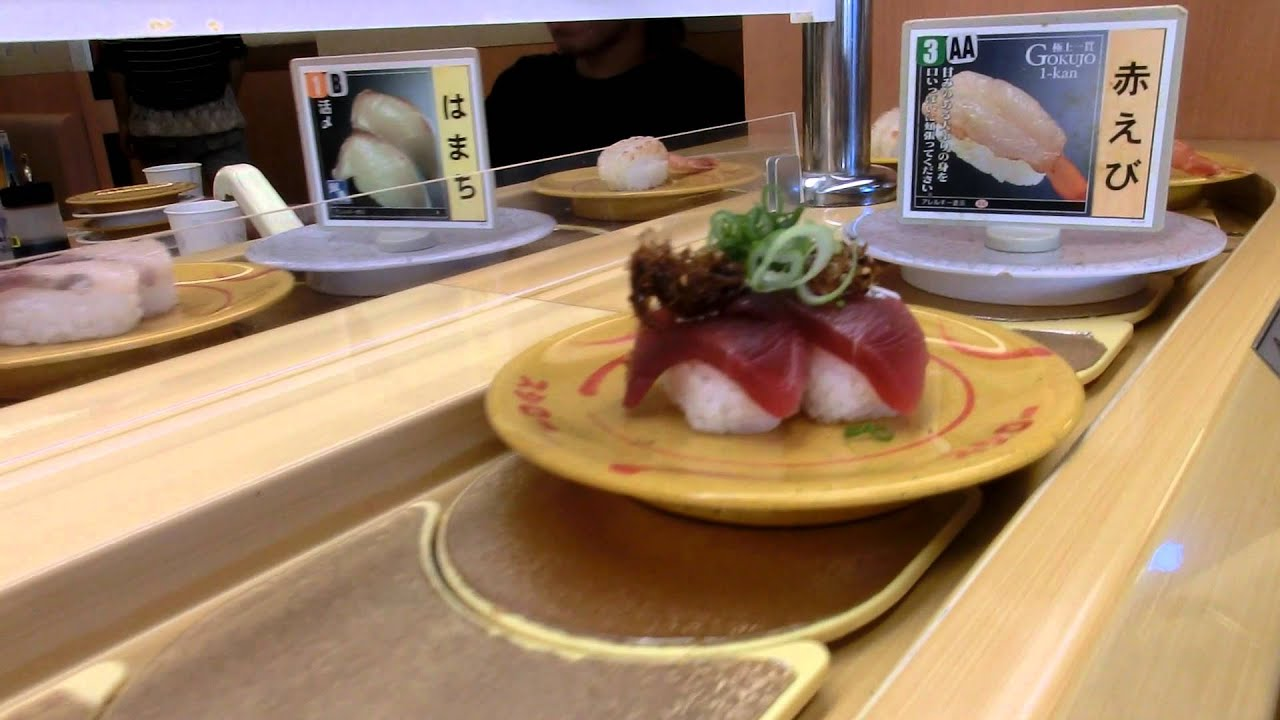 Recommended Conveyor Belt Sushi Restaurant Quot Sushiro Quot In