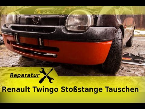 renault twingo sto stange tauschen youtube
