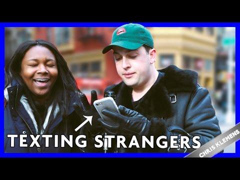 TAKING OVER STRANGERS' PHONES (not clickbait) - Chris Klemens - 동영상