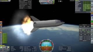 Kerbal Space Program RO Sandbox - BFR (2018 edition) Initial Test