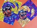 How to draw Zwarte Piet