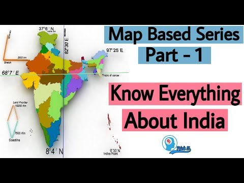 Map Based Series | Part 1 | UPSC, SSC, PSC, CDS