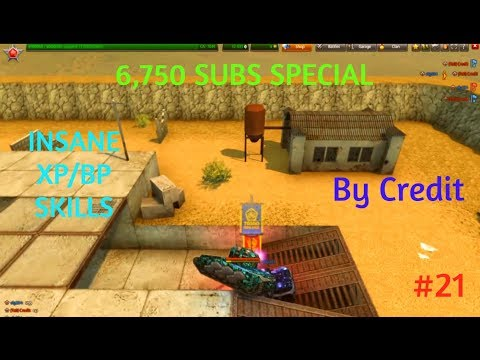 TANKI ONLINE SPECIAL VIDEO FOR 6,750 SUBSCRIBERS! XP/BP INSANE Skills #21