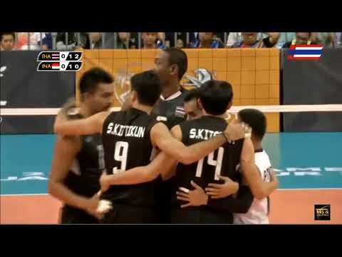 Thailand vs Indonesia | 27 August 2017 | Gold Medal | Volleyball Men's 29th SEA GAMES