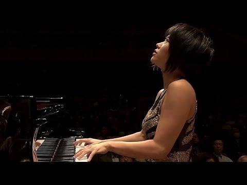 Yuja Wang: Brahms Piano Concerto No. 2 in B-flat major Op. 83 [HD]