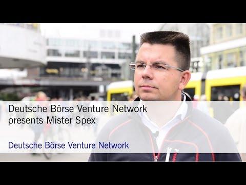 Deutsche Börse Venture Network presents Mister Spex