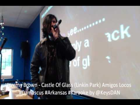 Jeremy Brown   Castle Of Glass Linkin Park Amigos Locos #Damascus #Arkansas #Karaoke by @KeysDAN