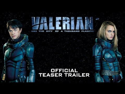 Valerian and the City of a Thousand Planets Official Teaser