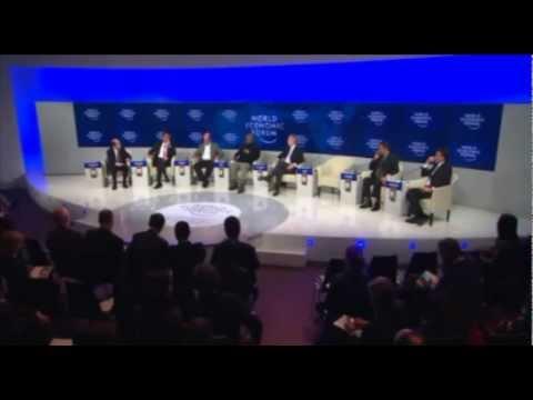 Indonesian Trade Minister Gita Wirjawan World Economic Forum 2012 Davos