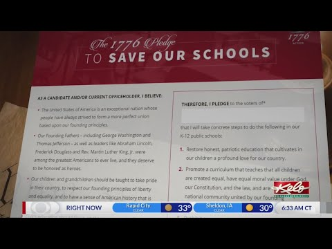 Gov. Noem signs 'The 1776 Pledge to Save Our Schools' for South Dakota education