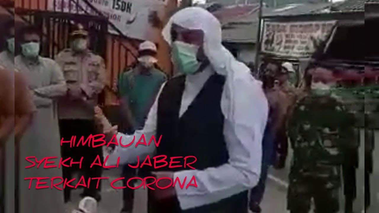 HIMBAUAN SYEKH ALI JABER TERKAIT CORONA - YouTube