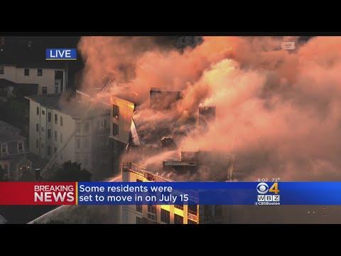 Massive Fire In Dorchester