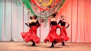 "Испанский танец ""Фламенко"""