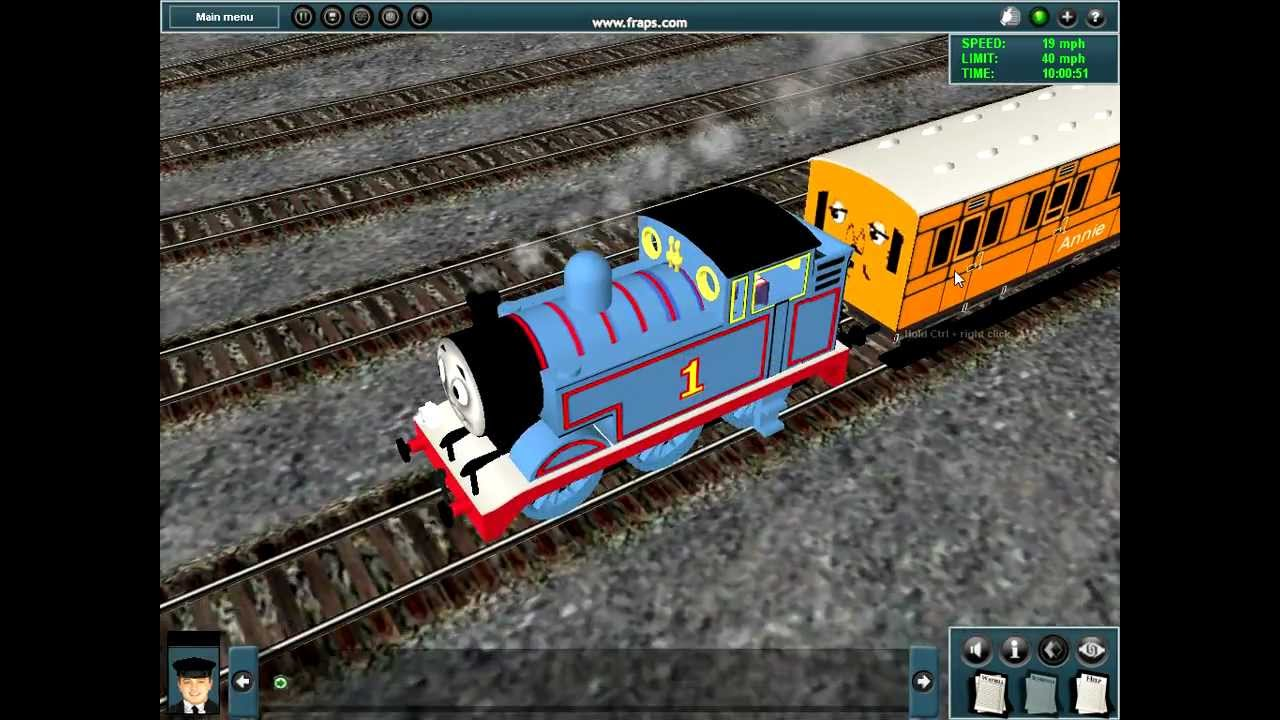 thomas and his mstnoodle friends / si3d - YouTube