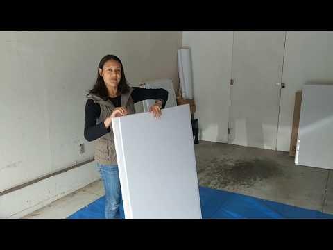 Cutting and Folding 4'x8' Foam Board Into Thirds