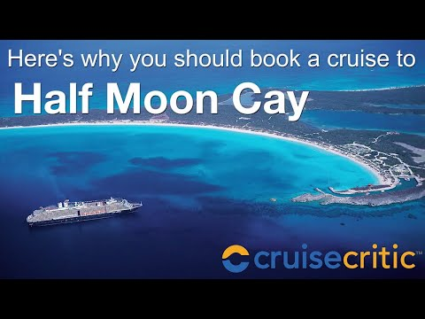 Half Moon Cay: Private Island Cruise Port in the Bahamas - Video
