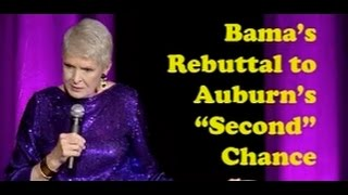 "Jeanne Robertson  - Bama's Rebuttal to Auburn's ""Second"" Chance"