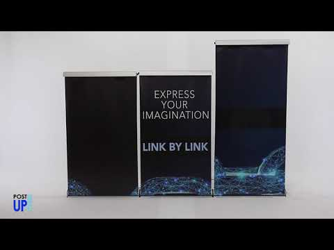 How to Assemble the Link Base Retractable Banner Stand
