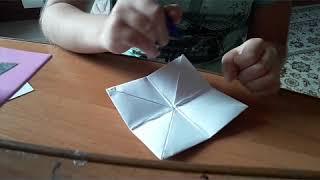 Как сделать оригами гадалку своими руками