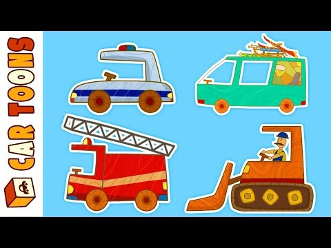Car toons full episodes: cars and trucks for kids
