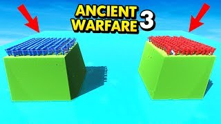 ISLAND VS ISLAND IN ANCIENT WARFARE 3! (Ancient Warfare 3 Funny Gameplay)