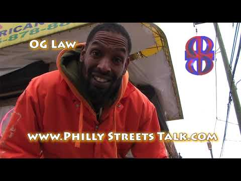 O.G. Law performing Ghetto Gospel #10 live with Philly Streets Talk