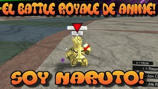 THE BATTLE ROYALE OF ANIME!, I AM NARUTO! Roblox: Ultimatives Crossover Englisch