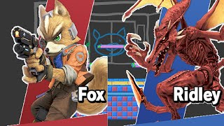 Fox vs. Ridley (Super Smash Bros. Ultimate)